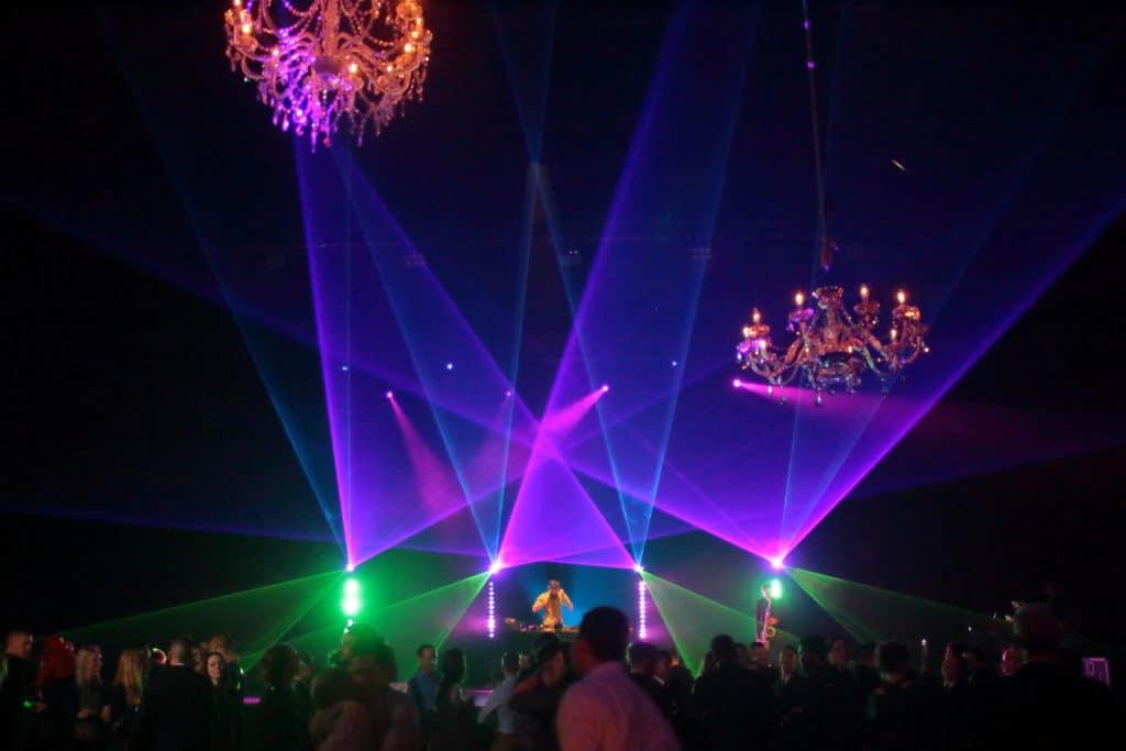show laser soirée de gala